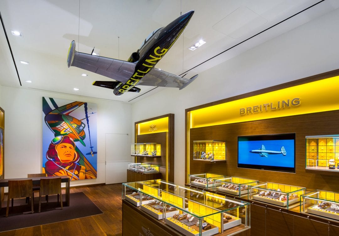 Breitling and Roberto Coin