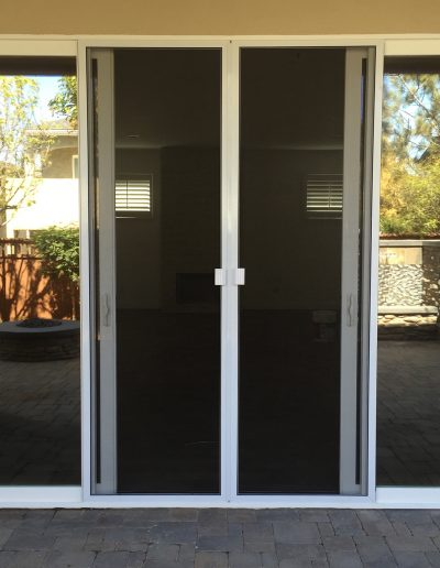 Double Sliding Screen Doors