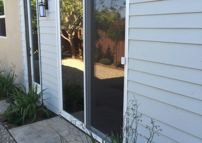 Extruded Aluminum Single Sliding Screen Door