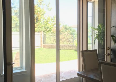 Low Profile French Swinging Screen Doors