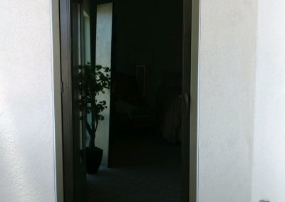Bronze Vista Swinging Screen Door with UltraVue