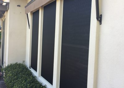 Full Coverage Solar Window Screens