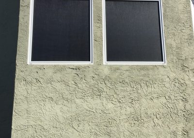 Solar Screens (Non-operable Windows)