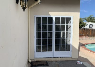 French Cape Cod Swinging Screen Doors