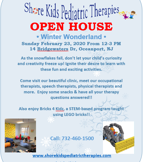 Winter Wonderland Open House