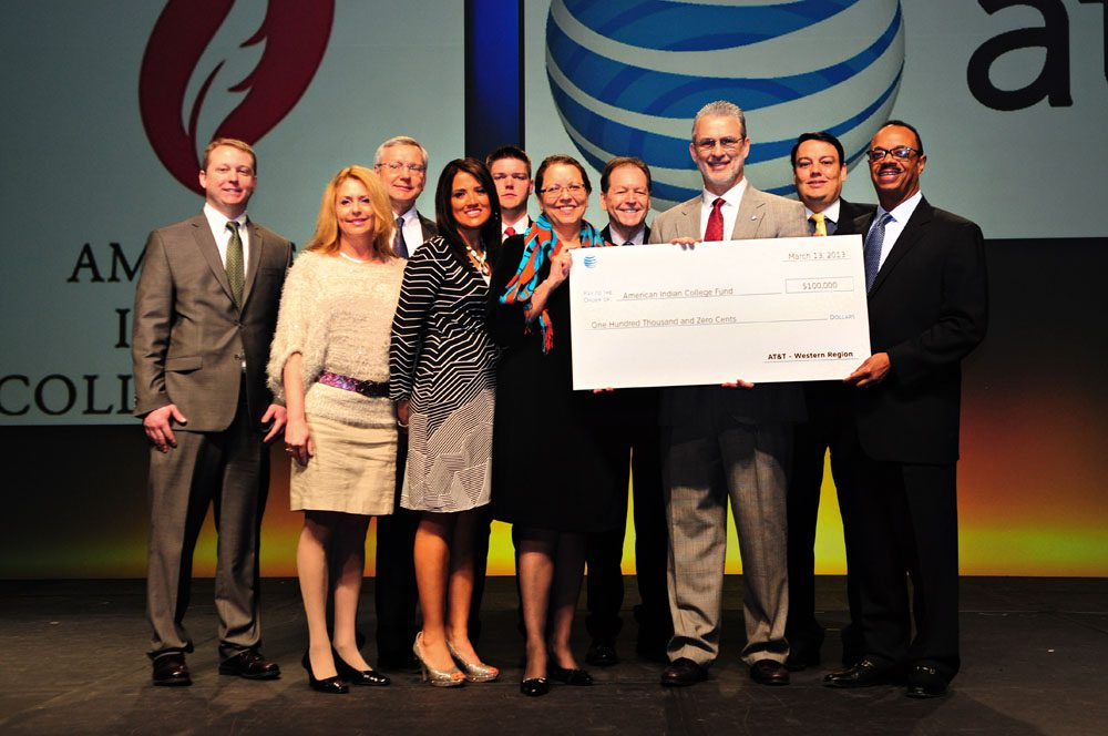AT&T Grants $100,000  to Support Native Scholarships