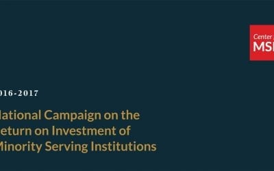 National Campaign on the Return on Investment of MSIs