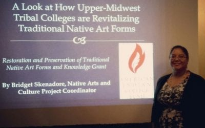 Traditional Native Arts at the 2016 International Conference of Indigenous Archives, Libraries and Museums