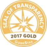 GuideStar Seal Of Transparency 2017 Gold