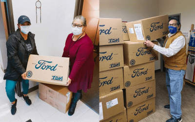 American Indian College Fund Teams with Ford Motor Company Fund to Provide Native-Serving Organizations with $134,611 in Protective Gear