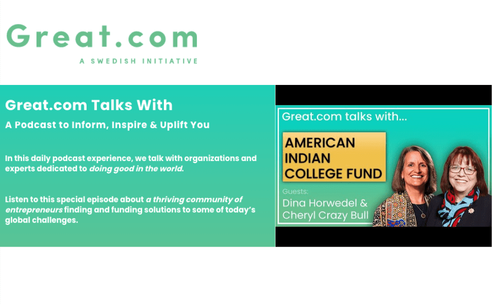 Great.com Talks With... American Indian College Fund