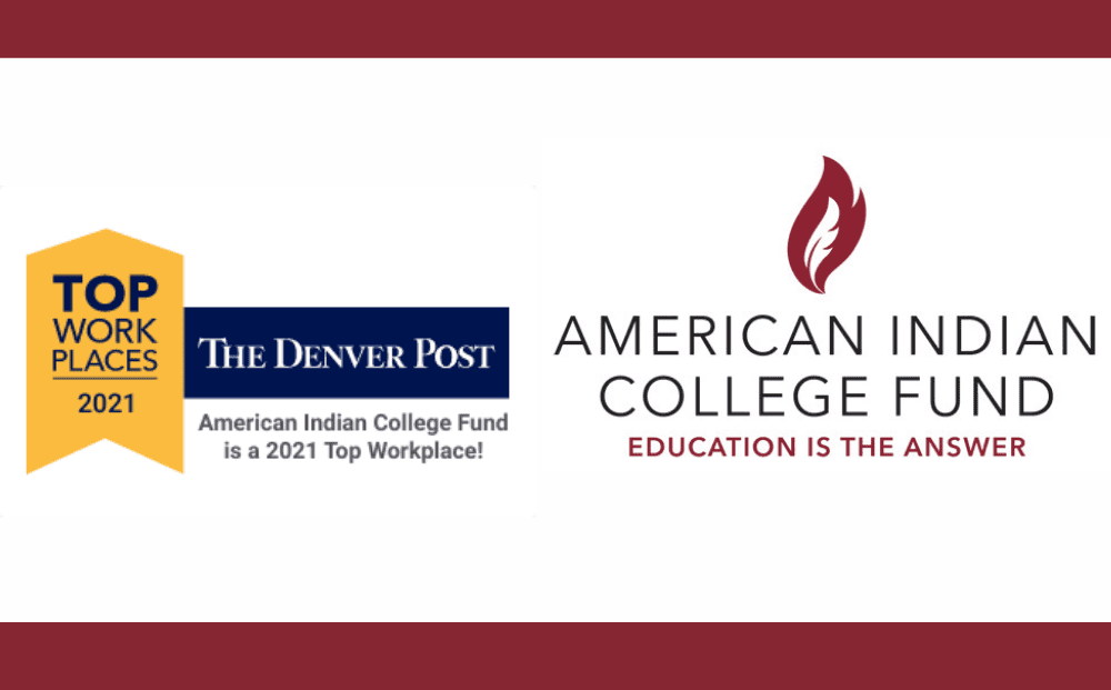 Top Work Places 2021 American Indian College Fund