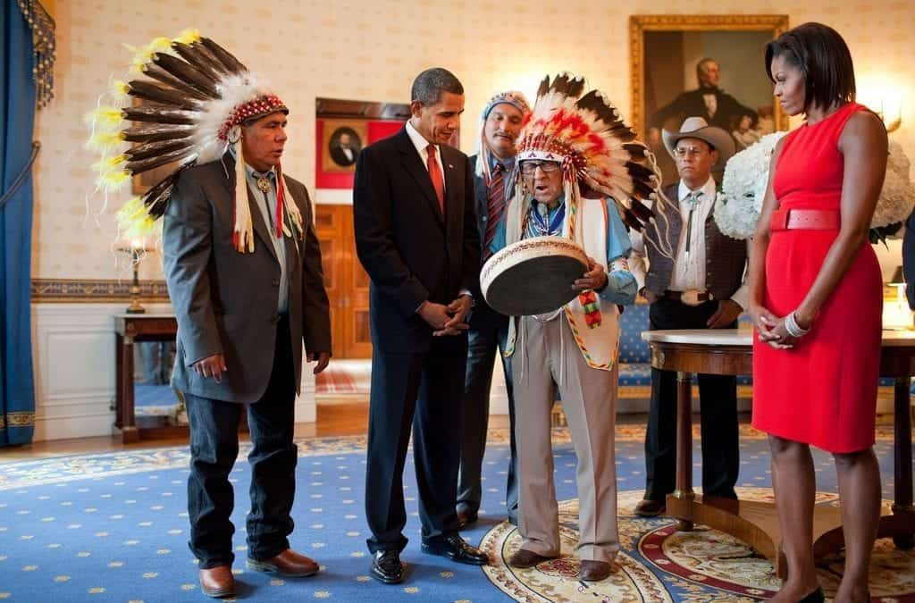 Tribe's First Master's Degree Recipient, Historian, and War Chief Dies at Age 102