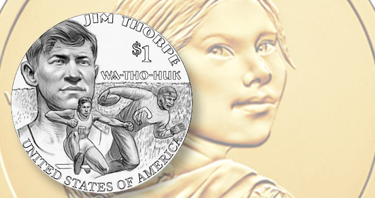 Jim Thorpe Dollar Coin Rendering