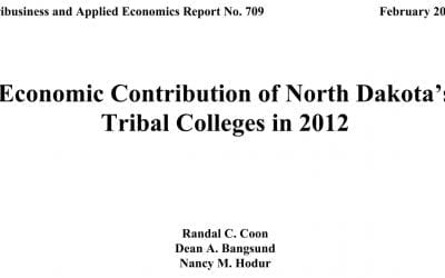 Economic Impact Studies in 2012