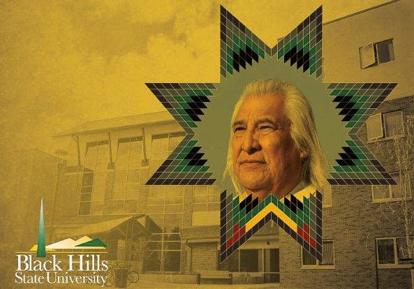 Black Hills State University in South Dakota honored Dr. Lionel Bordeaux (Sicangu Lakota), President of Sinte Gleska University