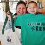 College4Kids Bags and Tee shirts