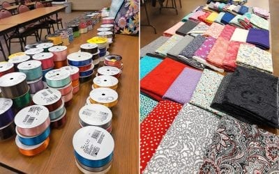 Traditional Native Arts Sister Site Visit: Sitting Bull College's Skirt-Making Workshop