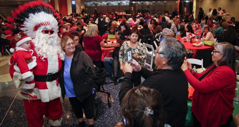 Denver and Native Organizations Feed 300 American Indians at Annual Denver Elder's Dinner