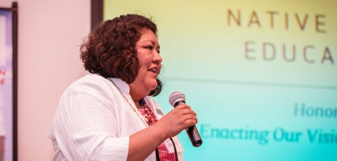 Tarajean Yazzie-Mintz is Co-Director of the Office of Research and Sponsored Programs and Senior Program Officer of Tribal College and Universities (TCUs) Early Childhood Education Initiatives at the American Indian College Fund.