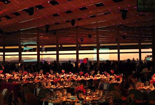Scene at the Flame of Hope Gala.