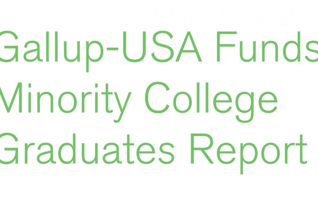 Gallup-USA-Funds-Minority-College-Graduates-Report cover