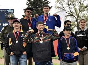 Montana Unified Special Olympics Team, Bocce Doubles Gold Medal Winners.