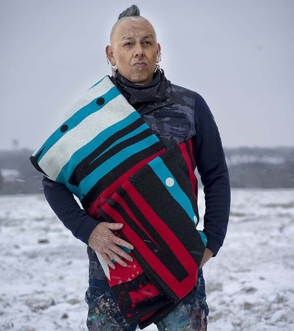 College Fund Honors Wieden+Kennedy Co-Founder David Kennedy with PENDLETON® Pathway Blanket