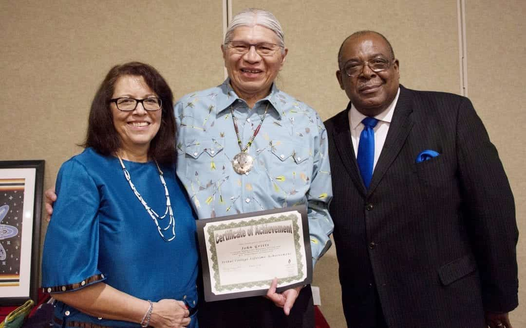 American Indian College Fund Honors Two Leaders in Native Higher Education