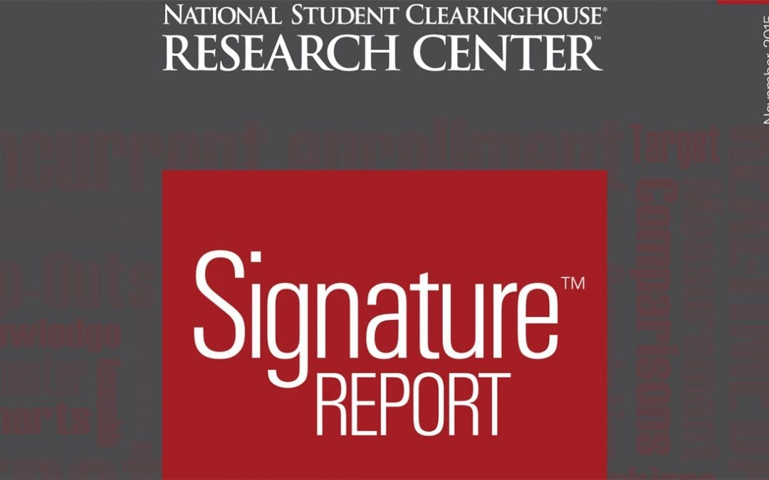 Cover image of Signature Report ten