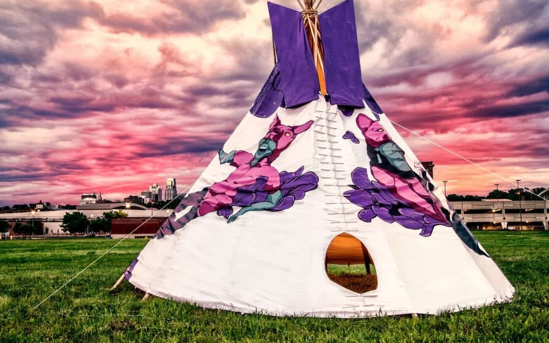 North Dakota Tribal College Receives Tipi for Cultural Learning Opportunities