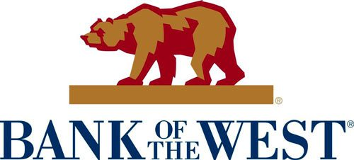 Bank of The West Logo with Bear.