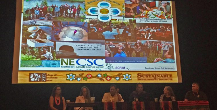 Tribal College, Community Tackle Ways to Share Environmental Stewardship