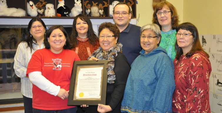 Program supported to build and strengthen Iñupiaq language
