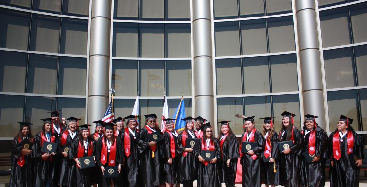 Muscogee Tribal College Graduation