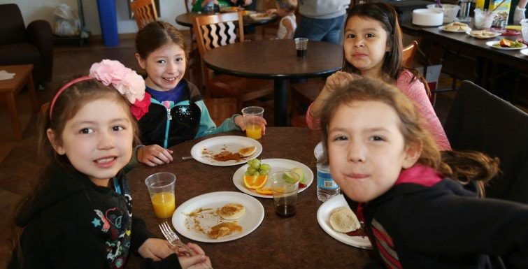 College4Kids Program Features Pigs, Pancakes and Maple