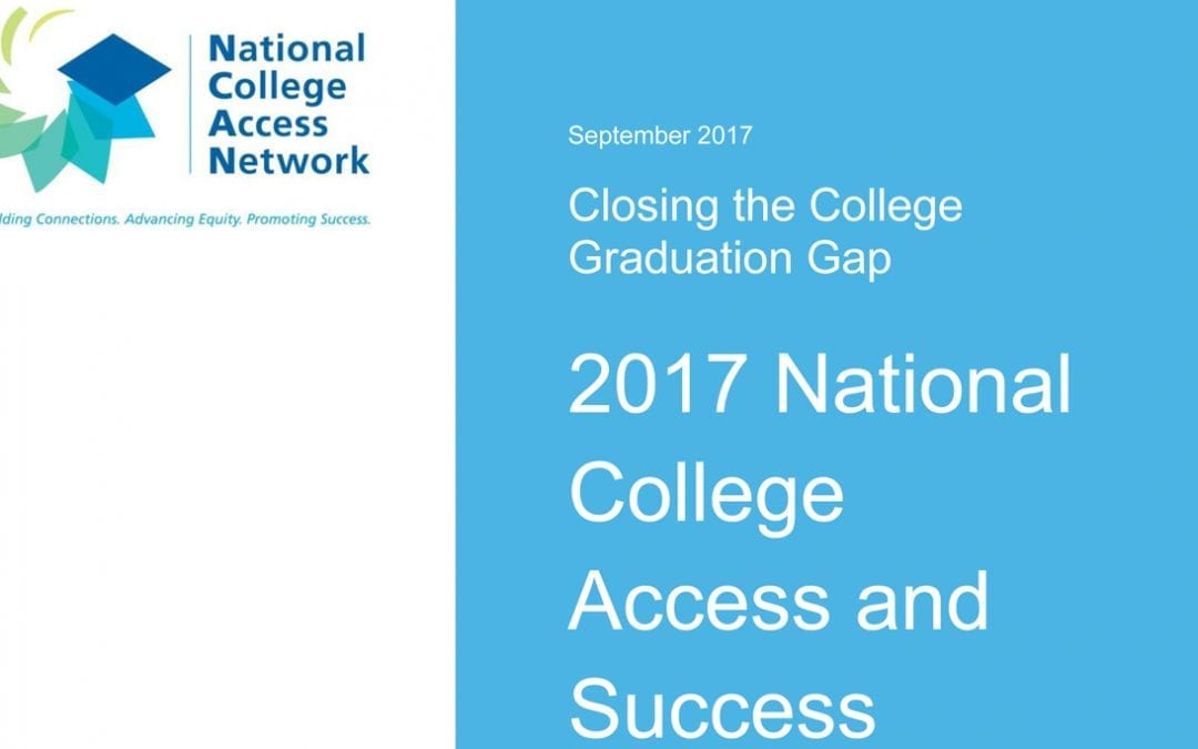 Cover of 2017 National College Access and Success Benchmarking Report