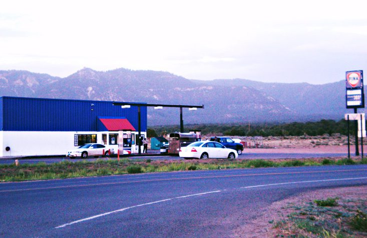 The store in Tsaile, Ariz.