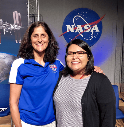 Navajo Technical University Student Explores NASA's Space Flight Technology, and the History of Her Own Tribe's Technological Journey