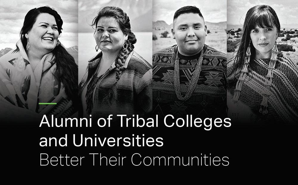 Alumni of Tribal Colleges and Universities Better Their Communities