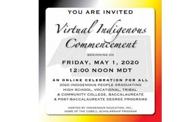 Scholarship Organizations Organize a Virtual Commencement for Native American College Students Friday, May 1
