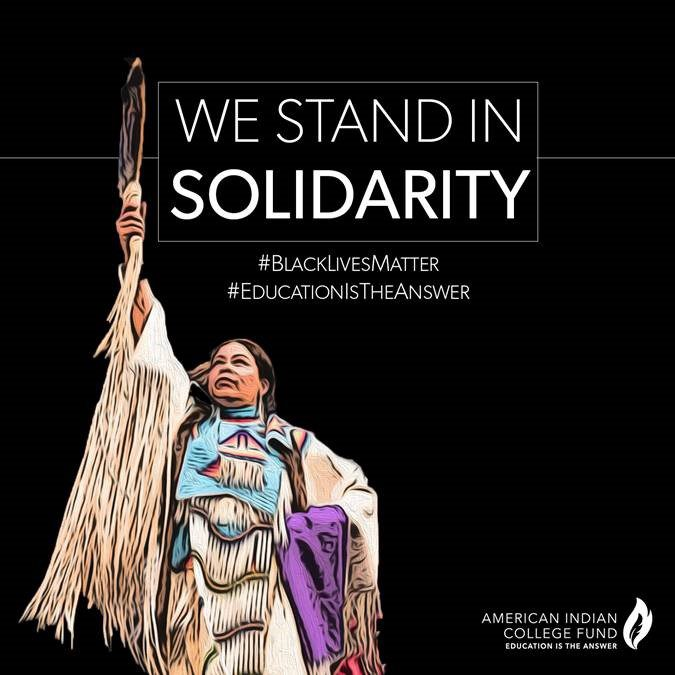 Statement on Race from the American Indian College Fund