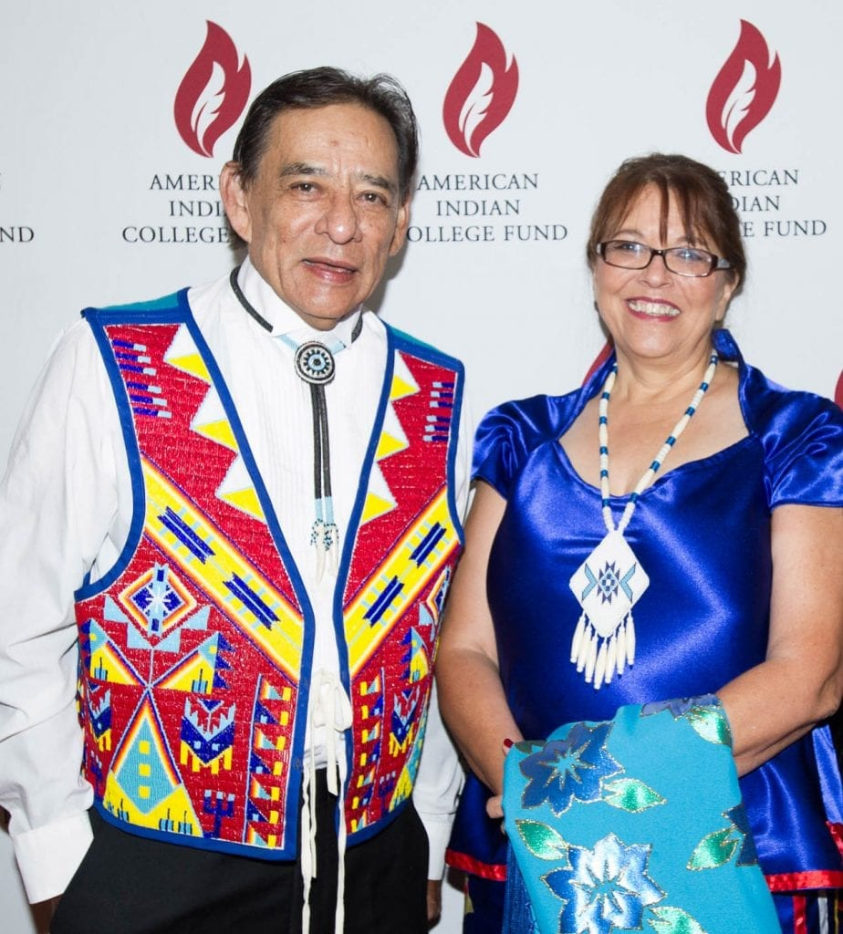 Dr David M Gipp and Cheryl Crazy Bull American Indian College Fund Gala