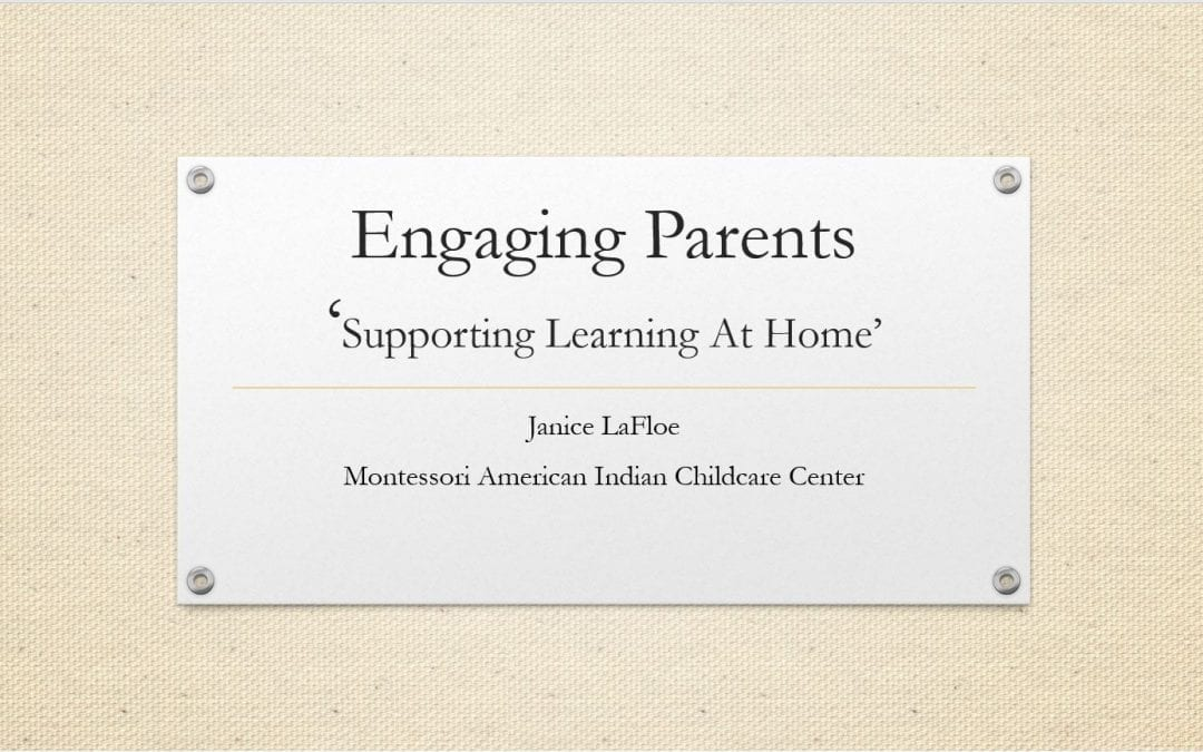 Indigenous ECE Family Engagement Webinar with Janice LaFloe