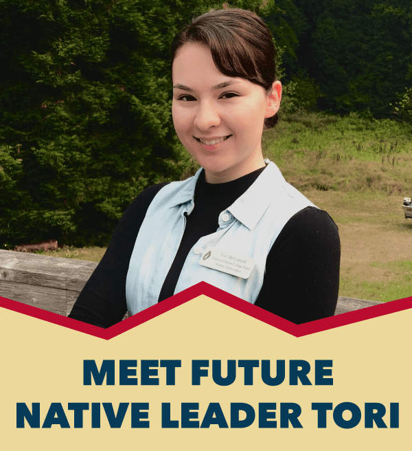 Meet Future Native Leader Tori