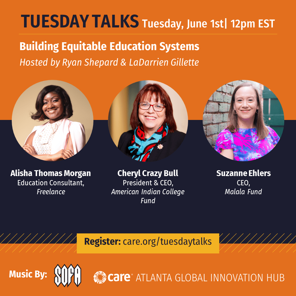 Cheryl Crazy Bull to Speak about Education Access at CARE Tuesday Talk June 1