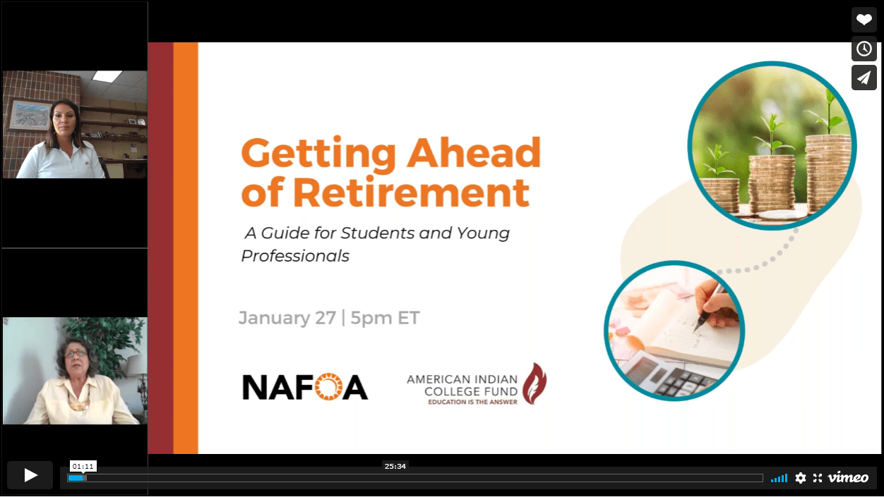 Watch Getting Ahead of Retirement on Vimeo